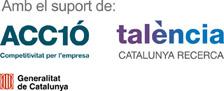 Amb el suport de Acció, talència i Generalitat de Catalunya