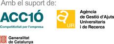 Amb el suport de ACCIÓ, Agència de Gestió d'Ajuts Universitaris i de Recerca i la Generalitat de Catalunya